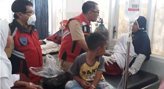 Keracunan Cireng Makroni - Puluhan Pelajar TK dan SD Keracunan Makaroni Goreng