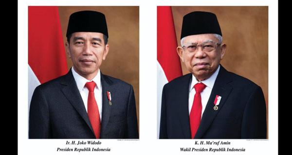 Presiden Jokowi Maruf Amin - Resmi Jokowi-Ma'ruf Amin Jadi Presiden Dan Wakil Presiden RI 2019-2024
