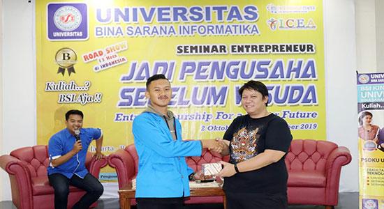 UBSI Sukabumi - UBSI Sukabumi Tumbuhkan Jiwa Wirausaha Sejak Dini