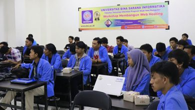 UBSI Web Hosting 390x220 - Mahasiswa UBSI Sukabumi Dibekali Kemampuan Membangun Web Hosting