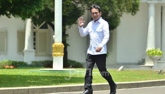 Wishnutama Kusubandio - Wishnutama dan Erick Thohir Dipanggil Presiden Jokowi di Istana
