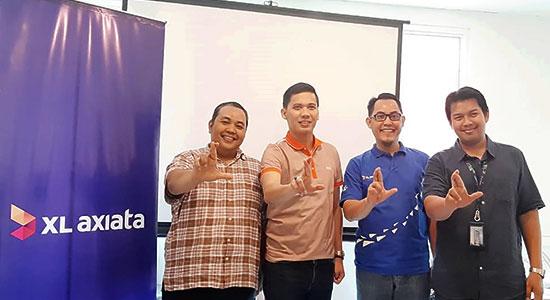 XL AXIATA n - Francky Rinaldo Pakpahan Nakhodai XL Axiata Regional Jabodetabek, Kalbar, Kaltim dan Kaltara