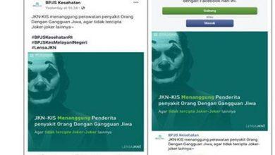 bpjs kesehatan joker 390x220 - BPJS Kesehatan Disomasi karena Unggah Foto Joker
