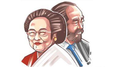 mEGAWATI Suryapaloh 390x220 - Megawati Abaikan Jabat Tangan Paloh, Hasto: Politik itu Bukan Drama