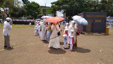 manasik 390x220 - Himpaudi Kota Sukabumi Sukses Gelar Manasik Haji Terbesar