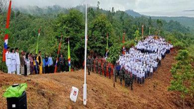 merah putih perbatasan 390x220 - Merah Putih Raksasa Berkibar di Perbatasan Indonesia
