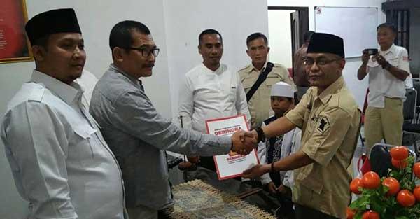 bakal calon wakil Bupati Sukabumi Ade Dasep Zaenal Abidin