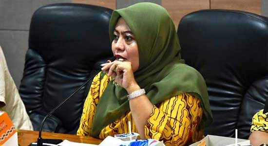 Anggota DPRD Provinsi Jabar dari Fraksi PAN, Dessy Susilawati