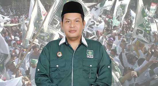 Ketua Dewan Pimpinan Cabang (DPC) PKB Asep Supriatna