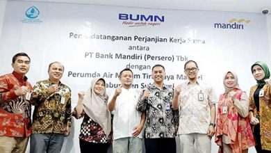 Bank Mandiri Sukabumi 390x220 - Asyik, Bayar Tagihan Perumda AM TJM Bisa Melalui Bank Mandiri