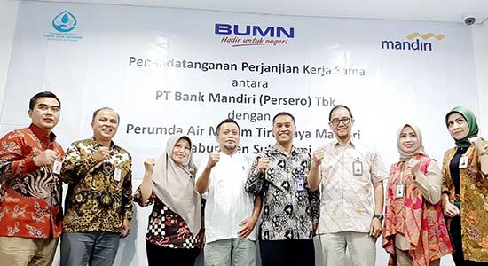 Bank Mandiri Sukabumi - Asyik, Bayar Tagihan Perumda AM TJM Bisa Melalui Bank Mandiri