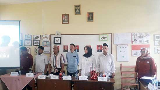 Campanye Pilkades Kabupaten Sukabumi 2019 - Calkades di Kabupaten Sukabumi, Ikuti Kampanye Damai