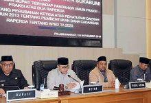 DPRD Kab Sukabumi raperda 220x150 - Akhir Tahun, DPRD Godok Dua Raperda