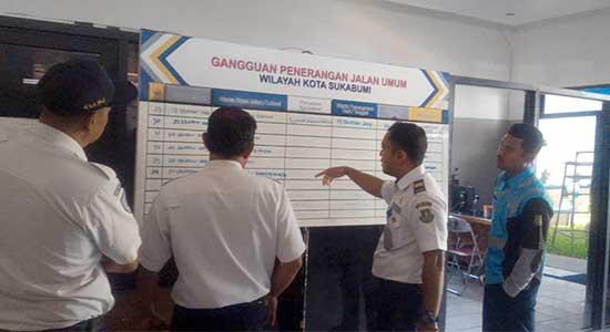 Dishub Kota Sukabumi - Puluhan PJU Baru Siap Dipasang
