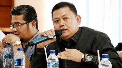Ketua Dewan Pimpinan Cabang (DPC) Partai Demokrat Kabupaten Sukabumi Hendar Darsono