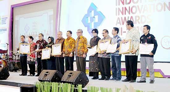 Inilah Deretan Jawara IndoHCF Innovation Awards III-2019 Para perwakilan juara IndoHCF Innovation Award III - 2019, Sabtu (9112019). (Foto Istimewa)