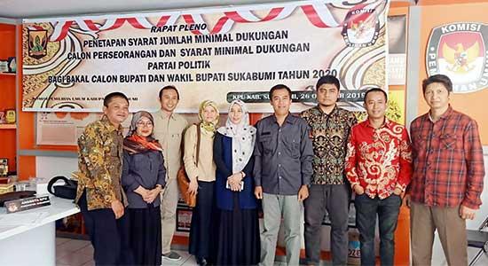 KPU Kabupaten Sukabumi - KPU Kabupaten Sukabumi Buka Pendaftaran Lembaga Pemantau Pilkada