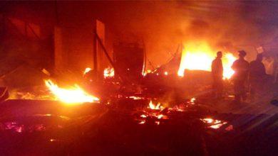 Kebakaran Pasar Penampungan Tipar 390x220 - Kerugian Kebakaran Pasar Tipar Rp1,6 Miliar