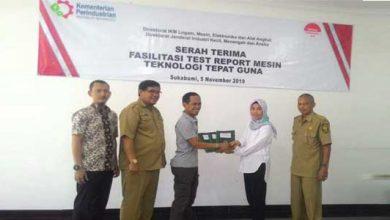 Kemenperin Beri bantuan mesin 390x220 - Kemenperin dan DPESDM Kabupaten Sukabumi, Berikan Bantuan Mesin Teknologi