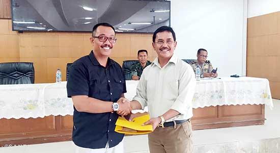 Kepala DPMD Kabupaten Sukabumi Thendy Hendrayana - Dua Cakades Mengundurkan Diri