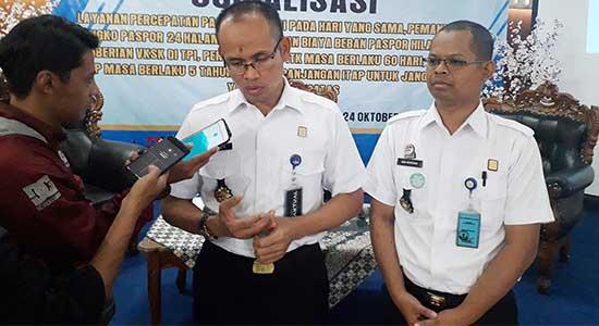 Kepala Kantor Imigrasi Kelas II Non TPI Sukabumi Nurudin - 332 TKA Masuk Sukabumi, Didominasi Oleh Pekerja China
