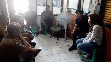 Muspika Cikembar 390x220 - Pembakaran Limbah Triplek PT Rong Hua Xing Indonesia Menuai Protes