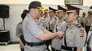 POLRES SUKABUMI KOTA Mutasi 390x220 - Lima Pejabat Utama Polres Sukabumi Kota di Mutasi