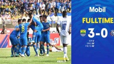 Persib Bandung 1 390x220 - Persib Bandung Menang Tiga Gol Tanpa Balas
