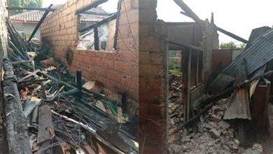Rumah Terbakar 390x220 - Dua Rumah di Cimalati Hangus Terbakar