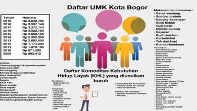 UMK Kota Bogor 390x220 - UMK Kota Bogor 2020, Rp4,1 Juta