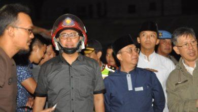 fahmi kebakaran 390x220 - Api yang Membakar 45 Kios Pasar Penampungan Sukabumi Telah Padam