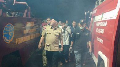 hergun tinjau kebakaran 390x220 - Hergun Tinjau Lokasi Kebakaran Pasar Penampungan Sukabumi