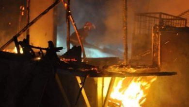 pasar kebakaran 390x220 - Polisi: Sumber Kebakaran Akibat Korsleting Listrik Toko Parfum