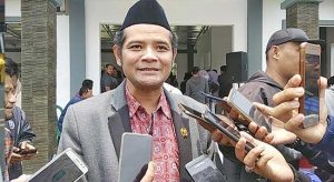 Wakil Ketua DPRD Kabupaten Sukabumi dari Fraksi PDIP, Yudi Suryadikrama