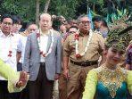 Mentri PDTT, Kedubes Tiongkok Bupati Sukabumi Marwan Hamami