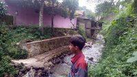 Sungai Cibandung yang berlokasi di Kelurahan Sriwidari