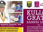 Beasiswa Bupati Sukabumi Tahun 2020 di Universitas Nusa Putra