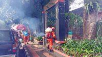 BPBD Kota Sukabumi Disenpektan