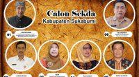Calon Sekda Kabupaten Sukabumi