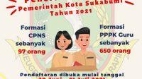 Penerimaan CPNS PPPK guru Pemkot Sukabumi