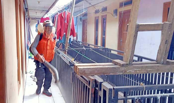 BPBD Kota Sukabumi Disinfektan