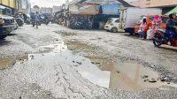 Jalan Rusak Kota Sukabumi