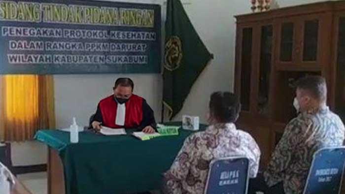 Sidang PPKM Kabupaten Sukabumi