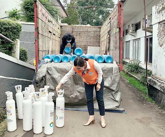 Pemerintah Kota Sukabumi Oksigen