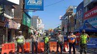 Penyekatan Polres Sukabumi Kota