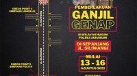 Ganjil Genap Sukabumi