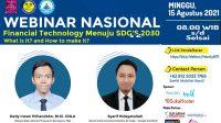 Webinar Finteck Universitas Nusa Putra