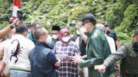 Bupati Bogor, Ade Yasin tinjau Jalur Puncak II