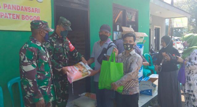 Penyaluran BPNT bagi warga Kecamatan Ciawi