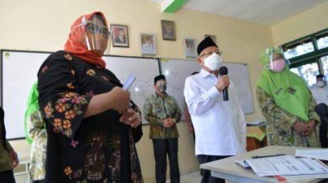 Bupati Bogor, Ade Yasin dan Wapres, Ma'ruf Amin